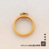 Bruno Alquier - Bague fancy saphir orange en or rose et blanc