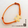 Bruno Alquier - Bracelet PUZZLE en or jaune sur cordon