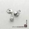 Bruno Alquier - Boucles d'oreille first diamants en or blanc