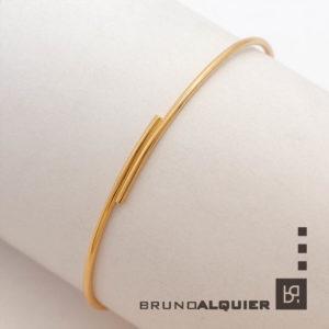 Bruno Alquier - Bracelet jonc femme en or rose